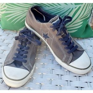 Converse One Star olive green size 7